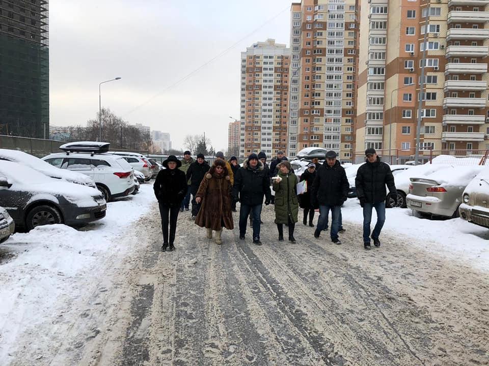 Глава управы Ховрина Виктор Коль проведет традиционный субботний обход территорий района 12 января