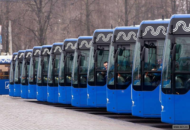 Автопарк в Ховрине в 2019 году получит 196 новых автобусов, работающих на метане