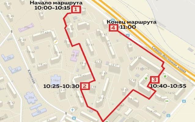 Субботний обход глава районной управы проведёт по Зеленоградской
