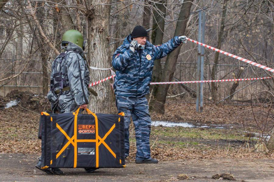 На стройке возле парка Грачёвка строители нашли артиллерийский снаряд