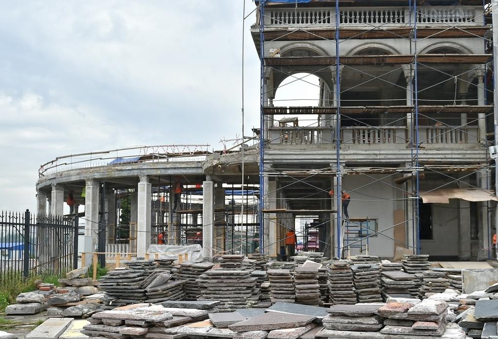 Реставраторы продолжат работать на Северном речном вокзале