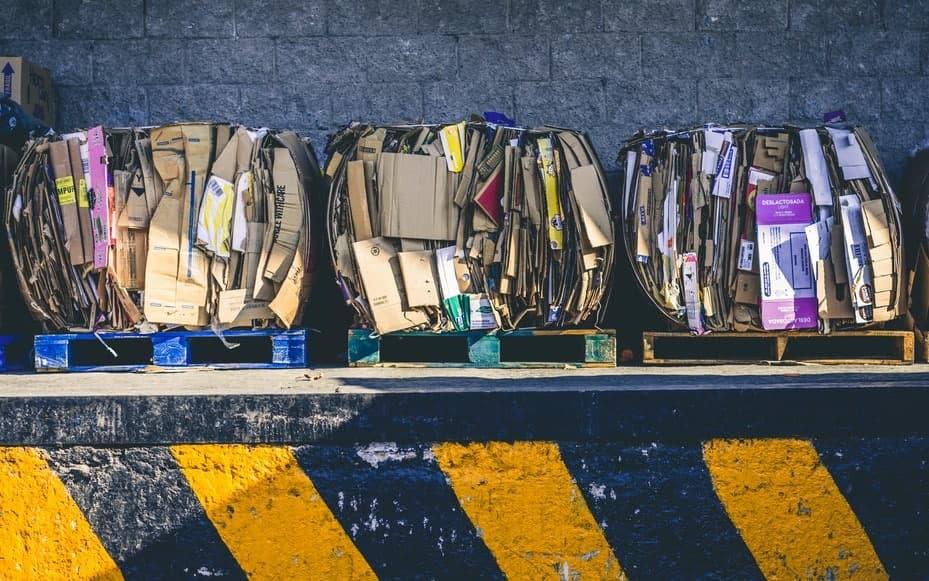 В школе №597 собрали почти десять тонн макулатуры